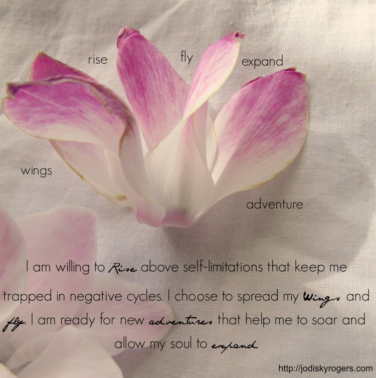 Cyclamen wild words mantra